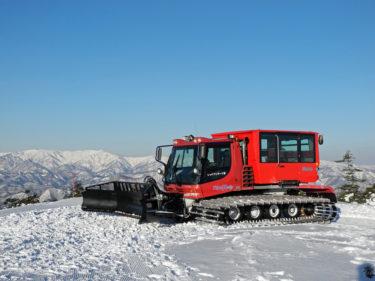 たかつえスノーキャットツアー|早起きしてゲレンデファーストトラックをいただき!|福島県