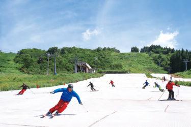 ウイングヒルズ白鳥リゾート|夏でもスキーコンテンツが充実