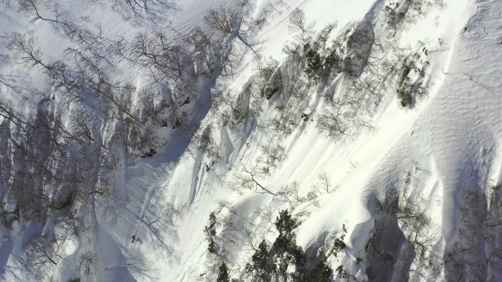 Skier/AKIRA SASAKI Location/Mt.TANIGAWA、GUNMA、JPN
