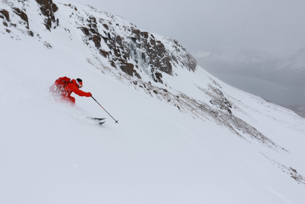 Skier/DAISUKE SASAKI Location/ICELAND