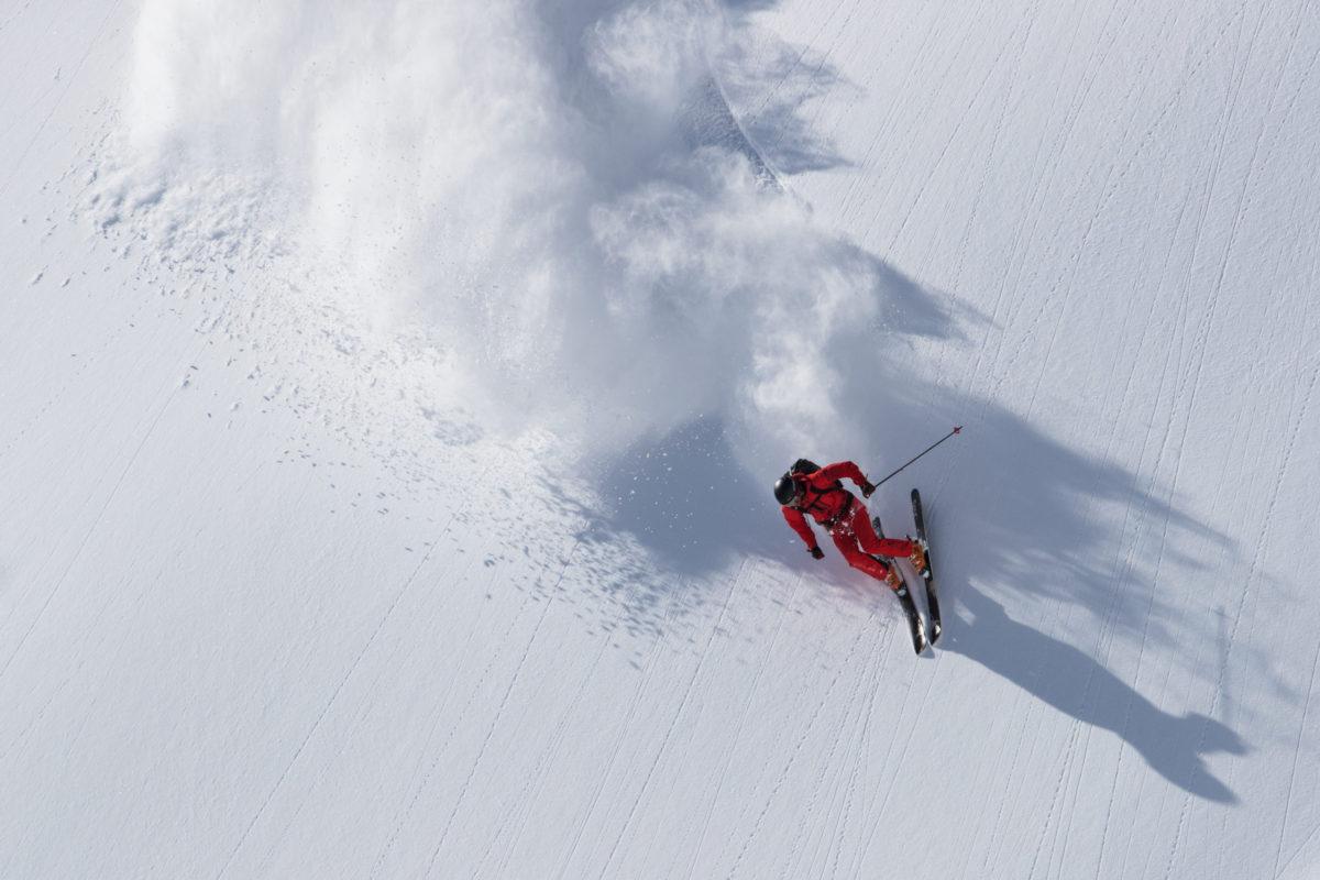 Skier/Tadahiro Yamaki Location/Sapporo BC、Hokkaido、JPN