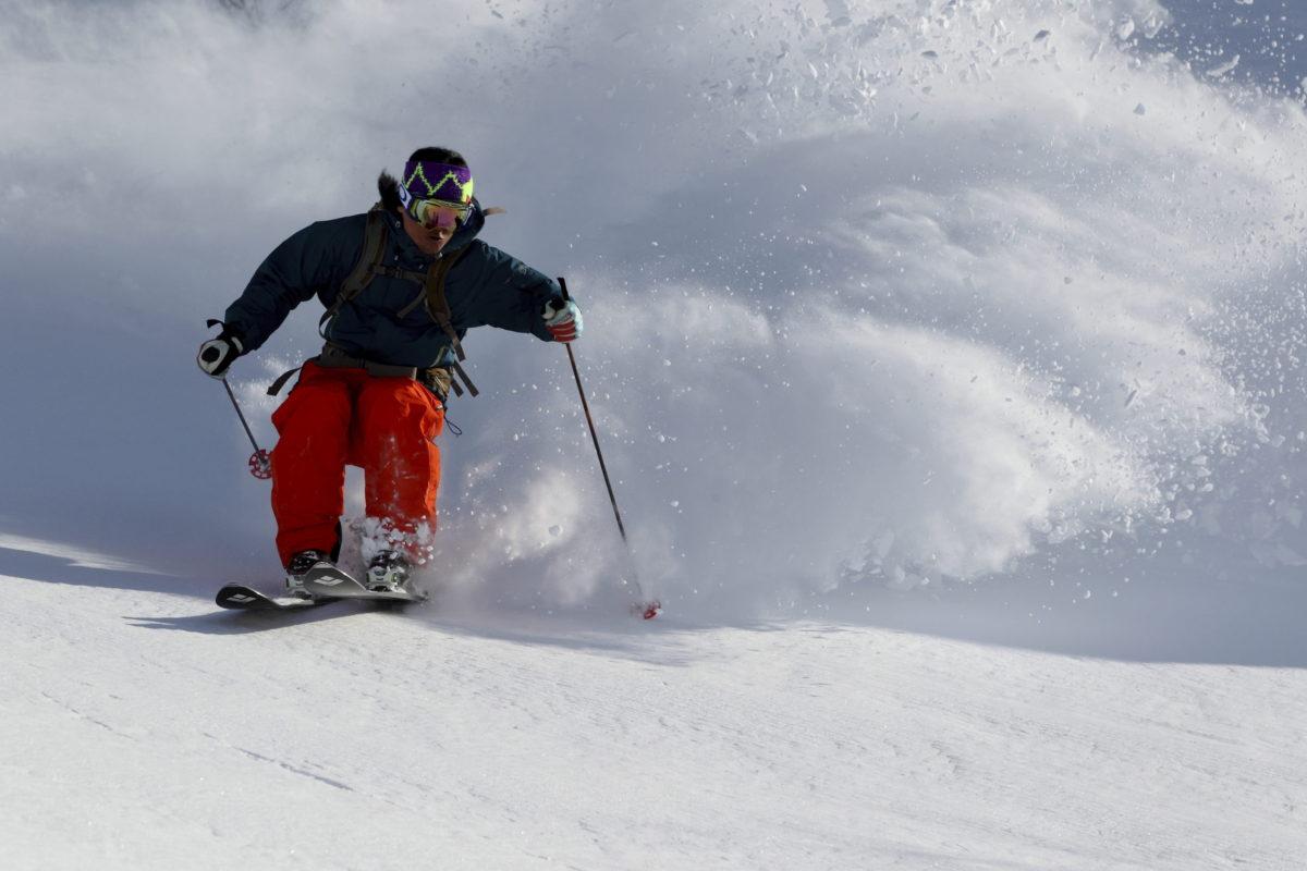 Skier/Makoto Asakawa Location/Asahidake、Hokkaido、JPN