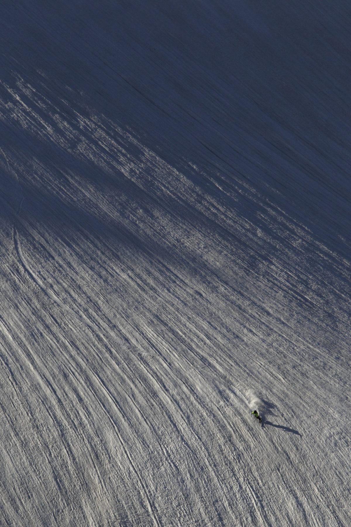 Telemark Skier/Yutaka Takanashi Location/Tateyama、Toyama、JPN