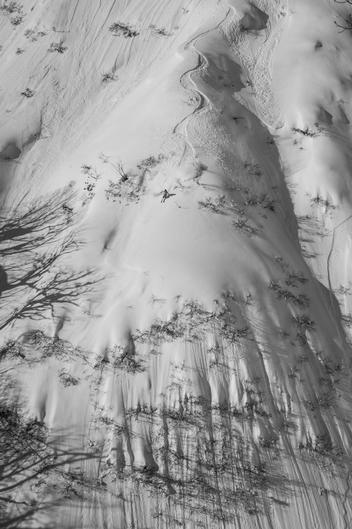 Skier/Tetsu Kawaguchi Location/Rankoshi、Hokkaido、JPN
