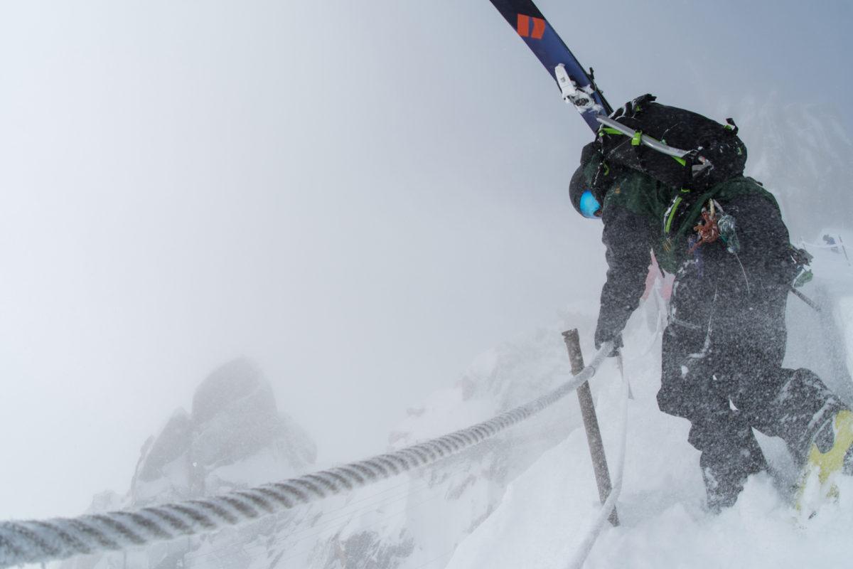 Skier/Tof Henry Location/ Chamonix、FRA