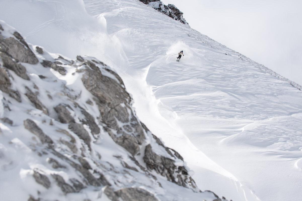 Skier/Hidemitsu Okada Location/Kamifurano、Hokkaido、JPN