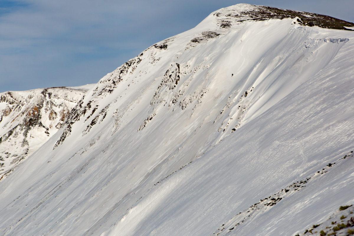 Skier/Miki Nakagawa  Location/Kamifurano、Hokkaido、JPN
