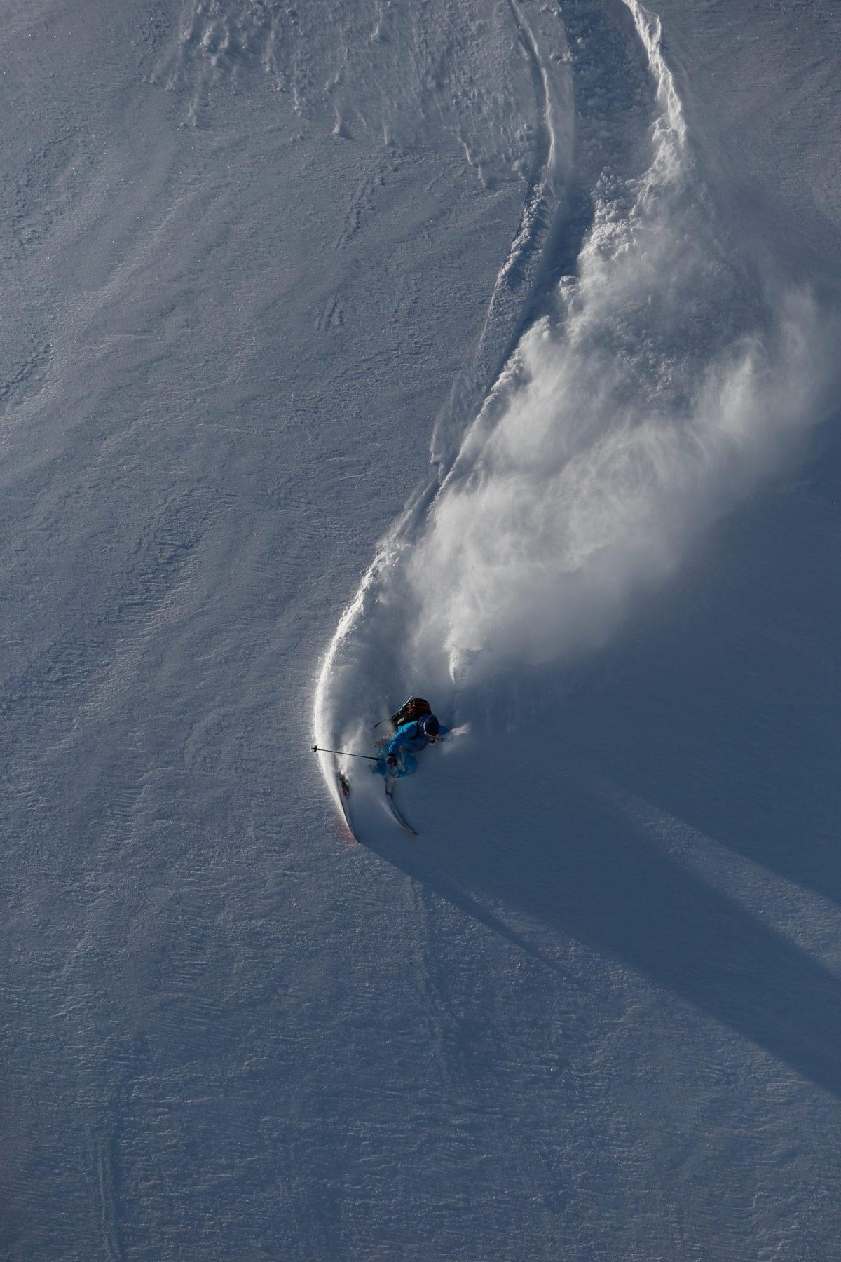 Skier/Takeshi Kodama Location/Tateyama、Toyama、JPN