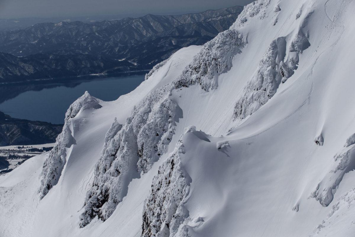Skier/Kazuya Furuse Location/Akita Komagatake、Akita、JPN