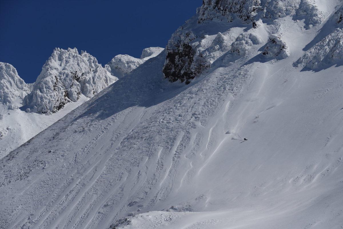 Skier/Akira Sasaki Location/Tokachi、Hokkaido、JPN