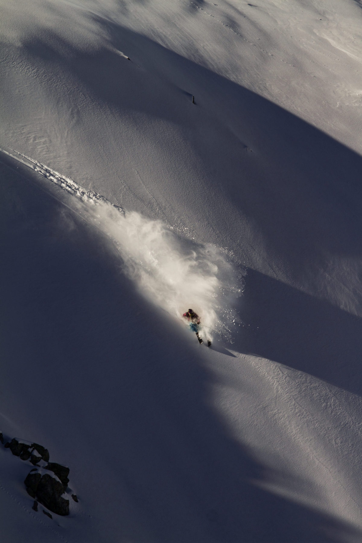 Skier/Kenji Kono Location/Tateyama、Toyama、JPN