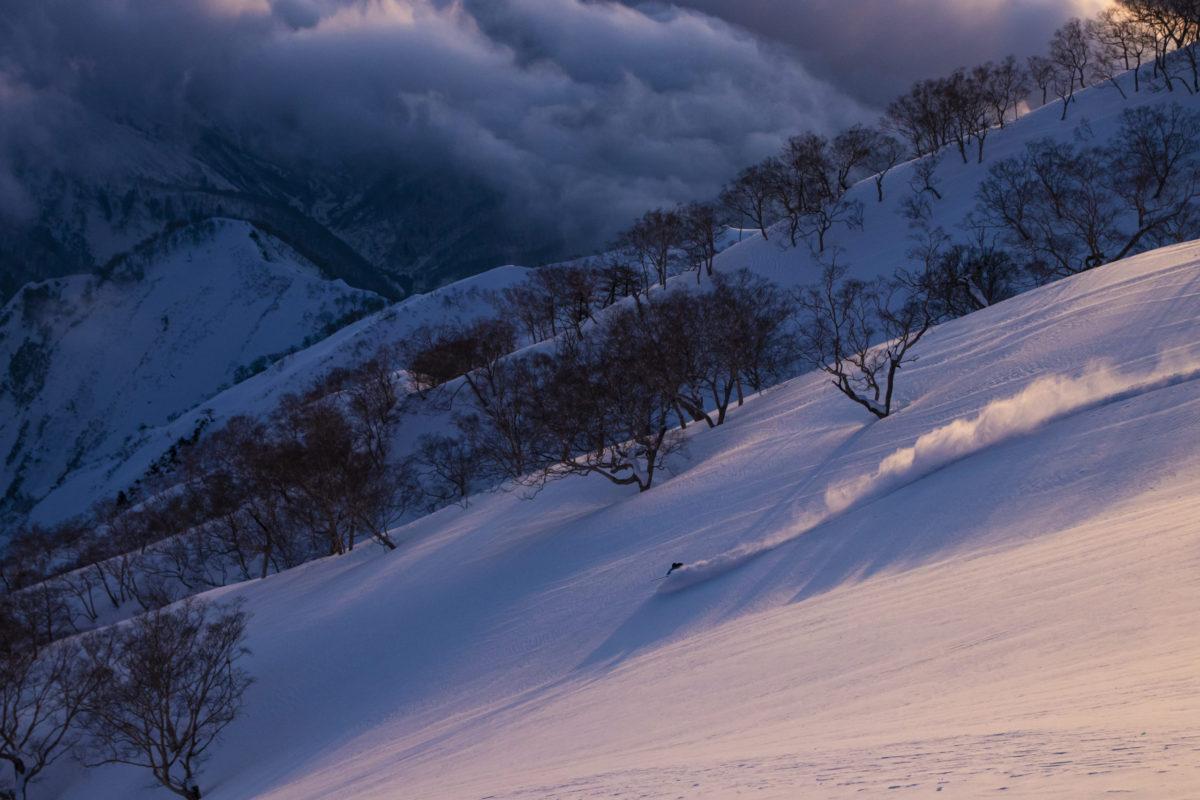 Skier/Kyoto Harada Location/Hakuba BC、Nagano、JPN