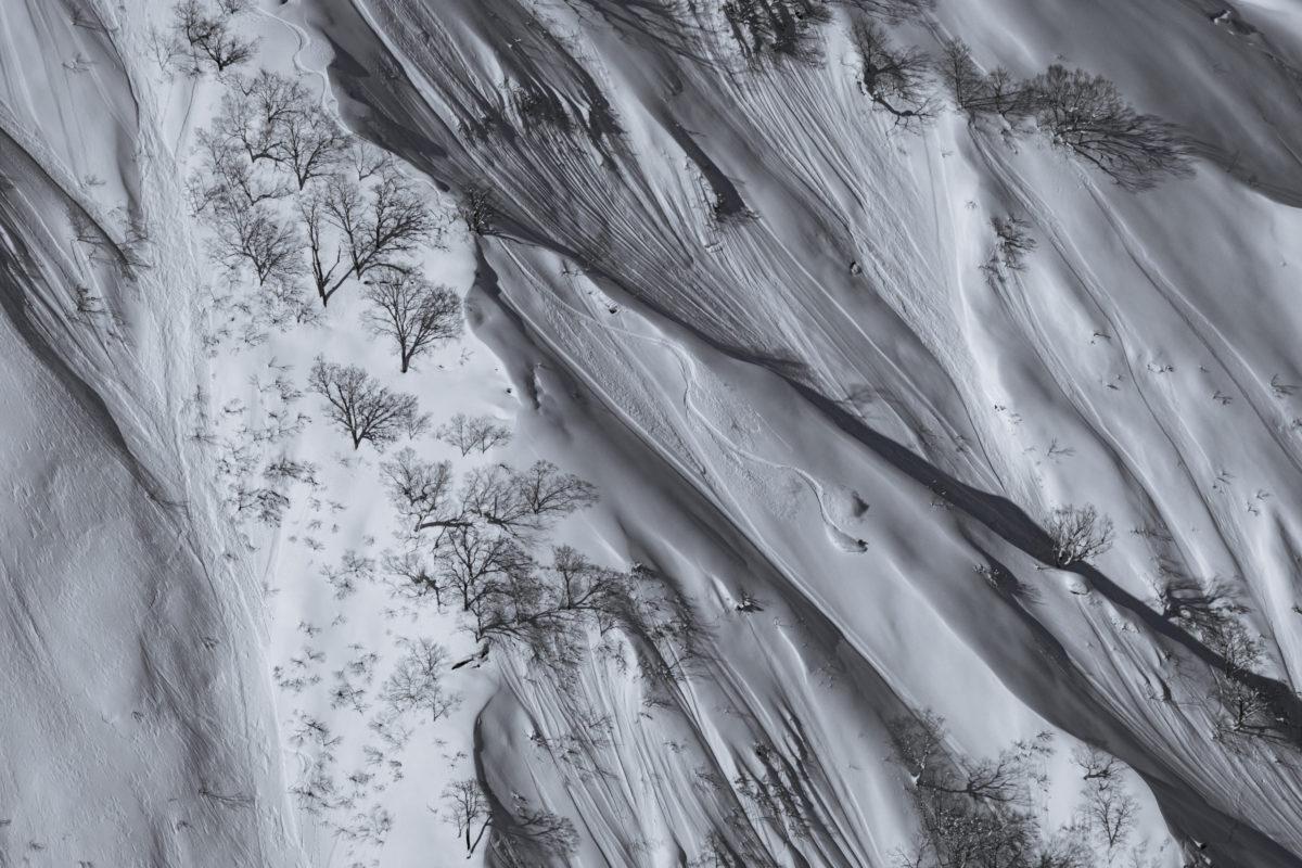 Snowboarder/Satoshi Arakawa Location/Hakuba BC、Nagano、JPN