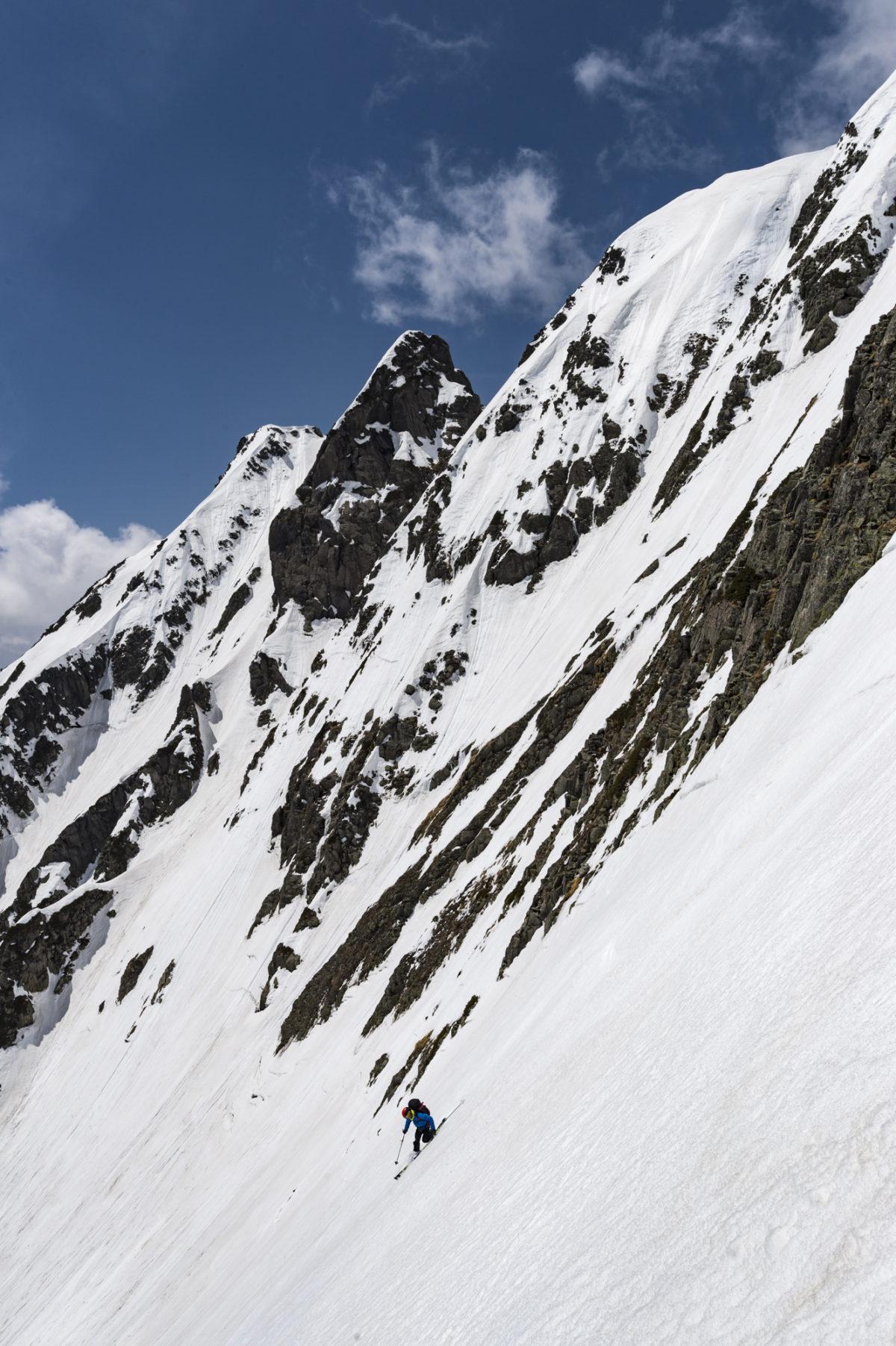 Skier/Mamoru Takahashi Location/Hotaka、Nagano、JPN
