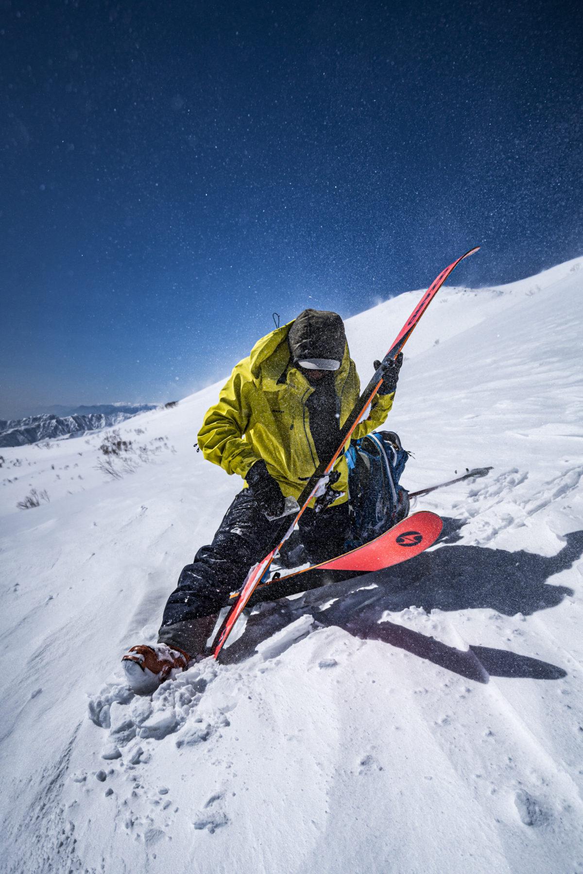 Skier/Masaaki Sato Location/Hakuba、Nagano、JPN