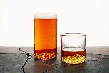 グラスの中に名峰が現れる! お気に入りの山を持ち帰って再現する悦び|North Drinkware(ノースドリンクウエア)from オレゴン,USA