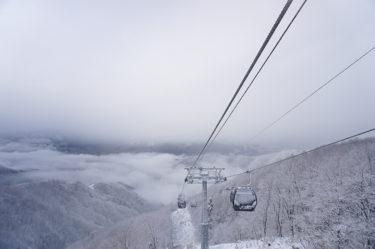 「広い・早い・静か」野沢温泉スキー場の新ゴンドラに乗ってみた
