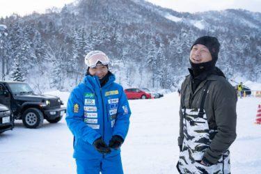 北海道のスキーテレビ番組「LOVE SKI HOKKAIDO」の収録に密着レポート Day_1