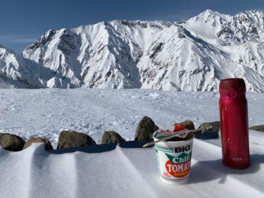 ハイスペック魔法びん水筒、雪山での実力を検証|山の上でカップ麺はアツアツで食せるのか?