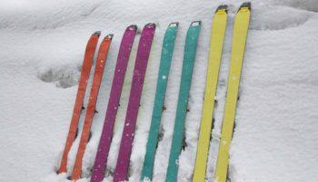 山をスキーで登るためのシール(クライミングスキン)ってなんだ?概要編
