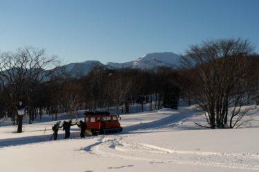 妙高高原で新しく始まるスノーキャットツアーサービスを、いち早く体験してみた