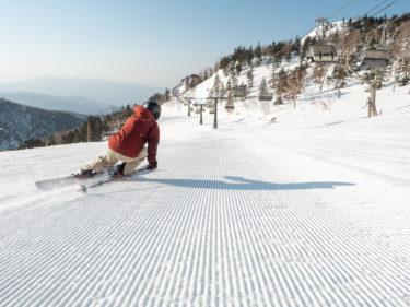 大人気ツリーランとファーストトラック 滑り方満載の川場スキー場を小野塚彩那が滑り倒す