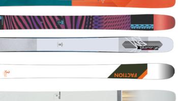 パウダー&圧雪・ファットおすすめスキー板|パウダー浮力を重視、圧雪バーンも犠牲にしない(ウエスト幅110mm以上〜120mm未満)